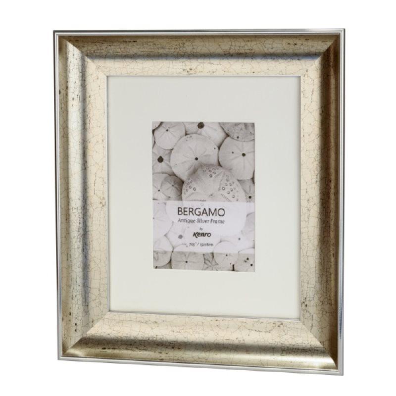 BERG1318S: Bergamo Antique Silver Picture Frame | Kenro Ireland