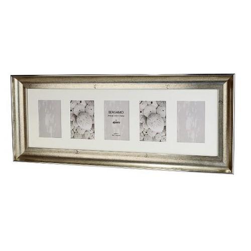 BERG1015S-5: Bergamo Antique Silver Photo Frame Kenro Ireland