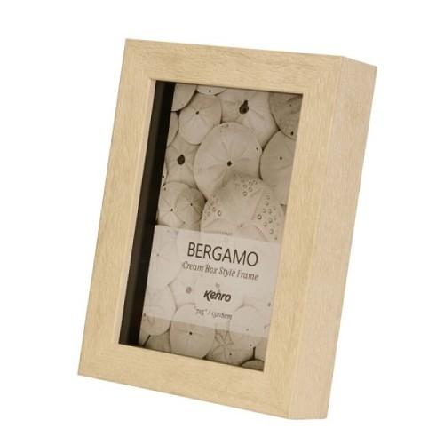BERG2025IV: Bergamo Cream Box Frame |Kenro Ireland