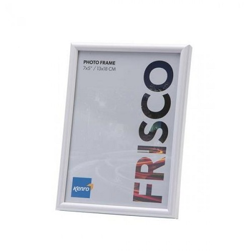 FR1313WH: Frisco White Photo Frame|Kenro Ireland