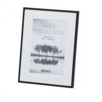 Aluminium black matt frame with white mats which give a generous picture border.  Choice of Four Sizes (4x6'', 5x7'',6x8'', 8x10