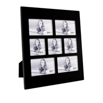 Black Glass Frame For Seven (4 6x4