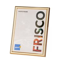 16x24'' / 40x60cm Frisco Gold Resin Picture Frame with Gloss Finish. Rounded Profile: 12mm wide x 20mm deep. Online Bulk Order Discounts Starting at 6 Units