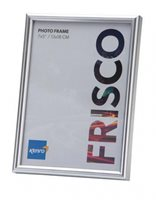 50x70cm  / 20x27.5'' Frisco Silver Resin Picture Frame with Gloss Finish. Rounded Profile: 12mm wide x 25mm deep. Online Bulk Order Discounts Starting at 6 Units