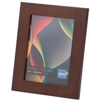 A3 / 29.7x42cm   Rio Dark Oak Crafted Wood Picture Frame in Solid Rubber Wood. Wood Stain Finish.  Flat Profile: 30mm Wide x 20mm deep. Online Bulk Order Discounts Starting at 6 units