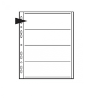 Negative File Pages 120mm Paper - pack of 25     Code: KNF07